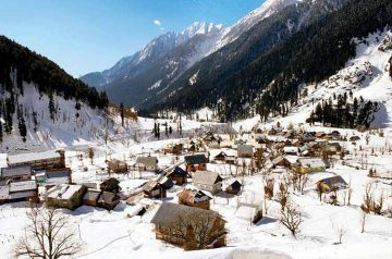 Kashmir White home