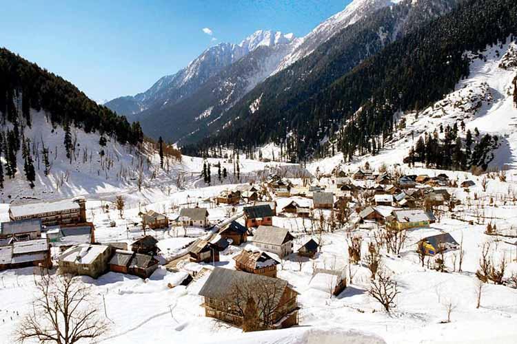 Kashmir White home